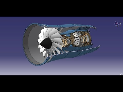 Catia v5 Design a turbine in Generative shape design