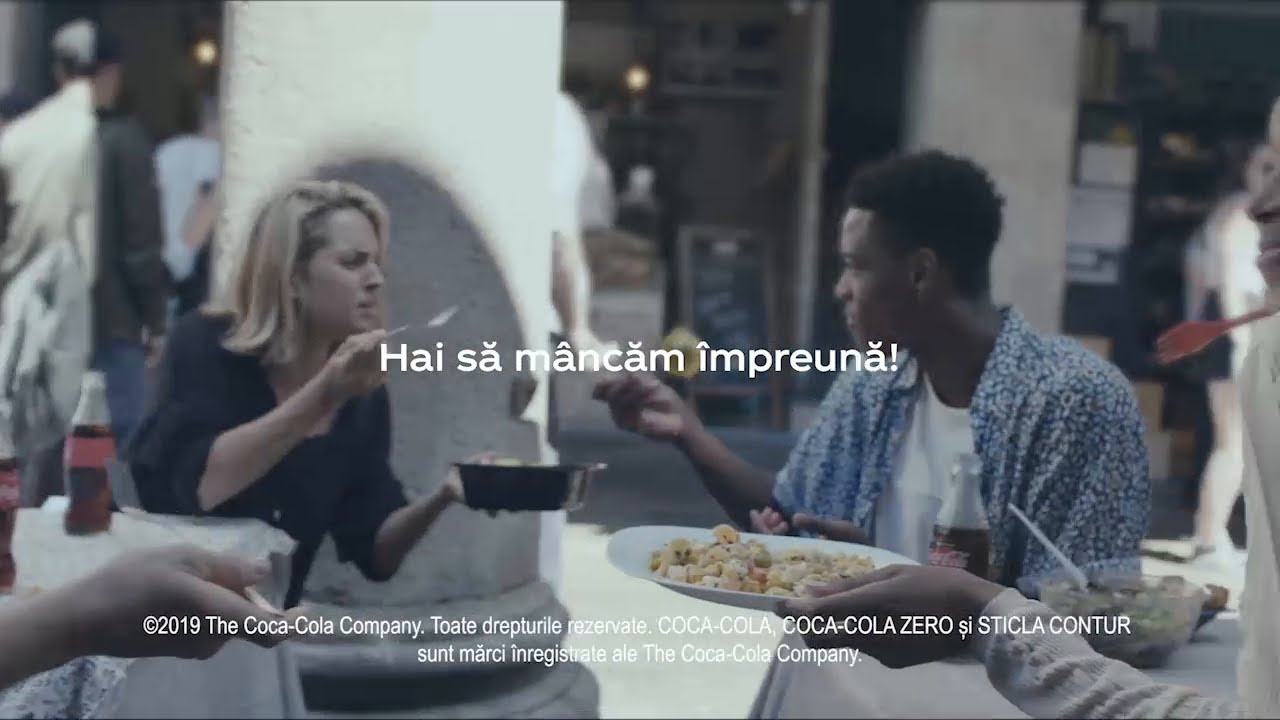 Coca-Cola & Meals // Hai sa mancam impreuna