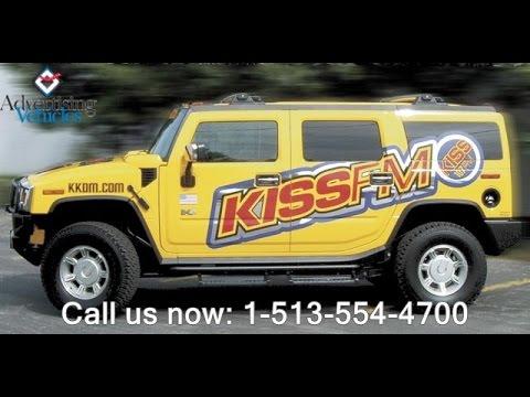 Cincinnatis Best Car Graphics and Truck Wraps Advertising Call 1-513-554-4700