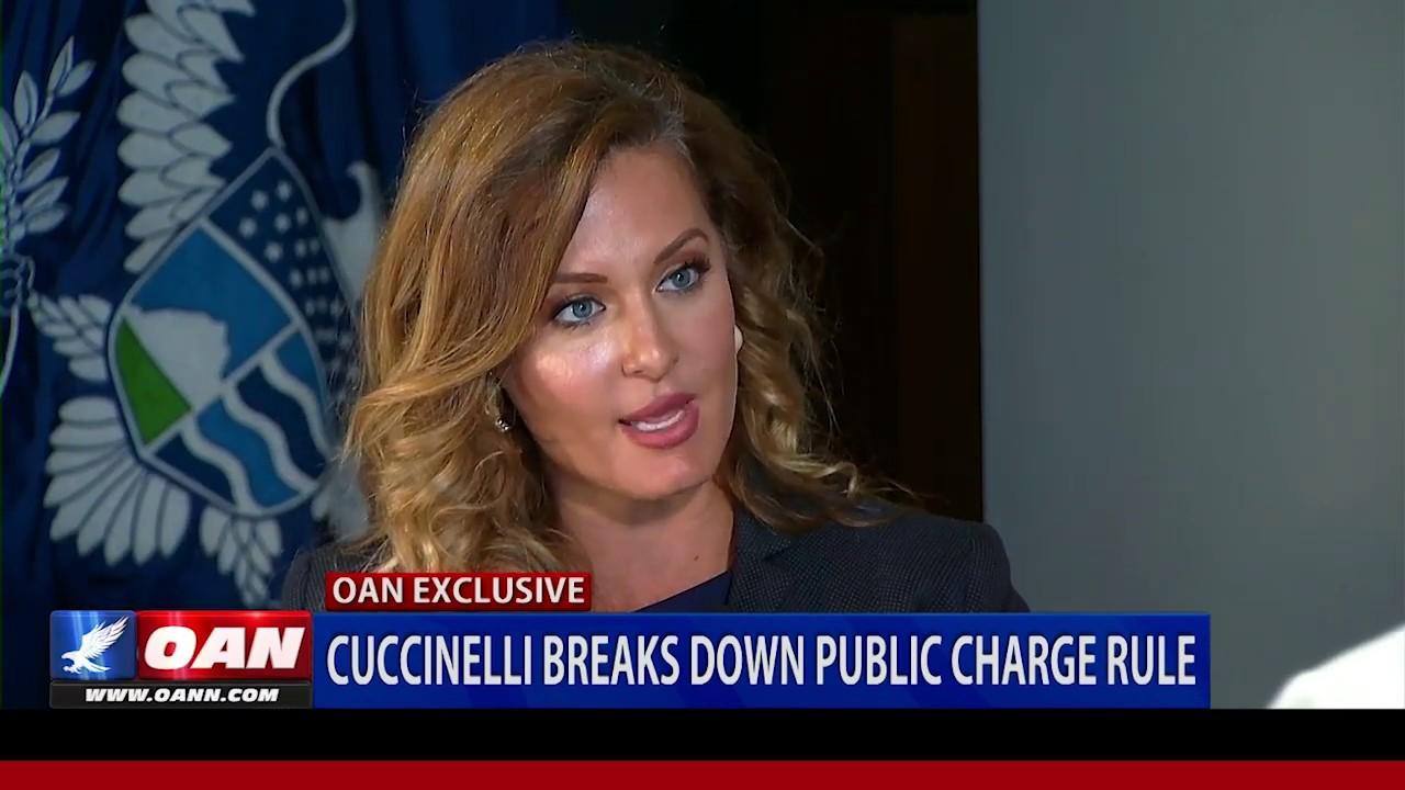 OAN Acting USCIS Director Cuccinelli breaks down public charge rule