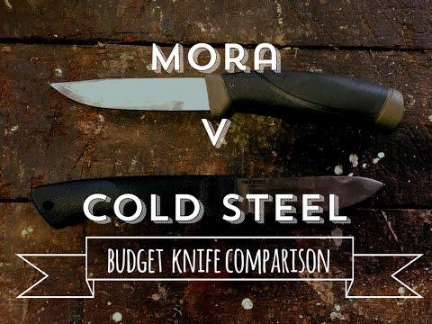 Mora Companion vs Cold Steel Pendleton Lite