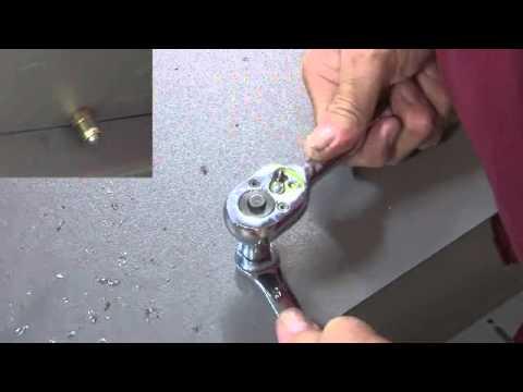 Installation of AVK Fastener