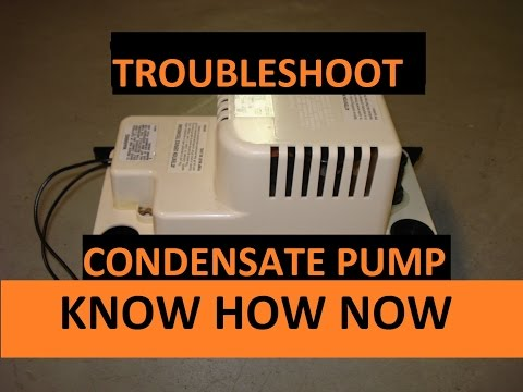 How to Troubleshoot a Condensate Pump