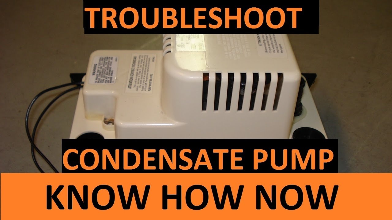 maxresdefault how to troubleshoot a condensate pump youtube boss condensate pump wiring diagram at arjmand.co