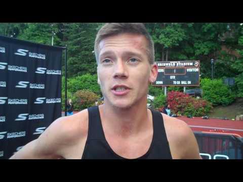 David Ribich DII Champ from Western Oregon Wins B Race in 3:39.56 PR