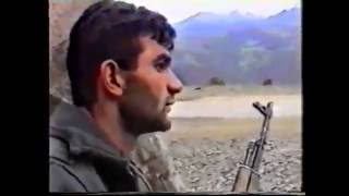 Бойцы азербайджанской армии гасят армянских оккупантов. Бои в Карабахе. War in Karabakh