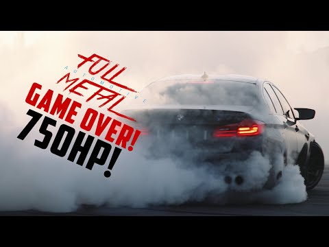 Descargar Video GAME OVER: BMW M5 F90 Murdering Tires (750HP & Bagged)