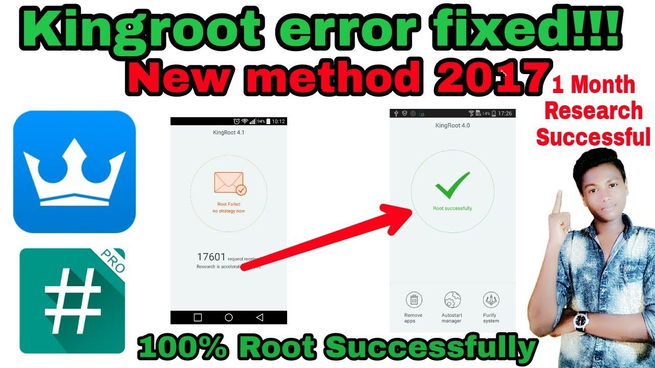 How to fix kingroot root failed | How to fix kingroot error | How to root  6 0 1 marshmallow