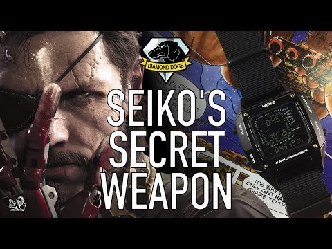 Seiko's Secret Weapon & Coolest $200 Metal Gear Solid Inspired Digital Watch - Wired Solidity Review