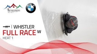 Whistler | BMW IBSF World Championships 2019 - Women's Skeleton Heat 1 | IBSF Official