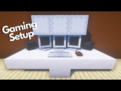 minecraft:-gaming-setup-build-tutorial
