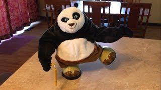 Kung Fu Panda Kickin Po Without Fur thumbnail