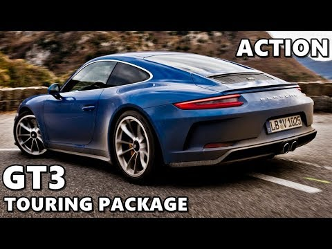 2018 Porsche 911 GT3 Touring Package in Action - Driving, Sound, Walkaround