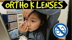 8 Year Old Gets Ortho-K Lenses | Does It Really Work??