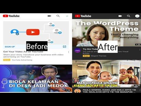 Cara merubah tampilan mode gelap di aplikasi youtube android