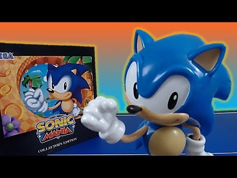 Sonic Mania Collector's Edition Unboxing (PC) - Initial Reaction