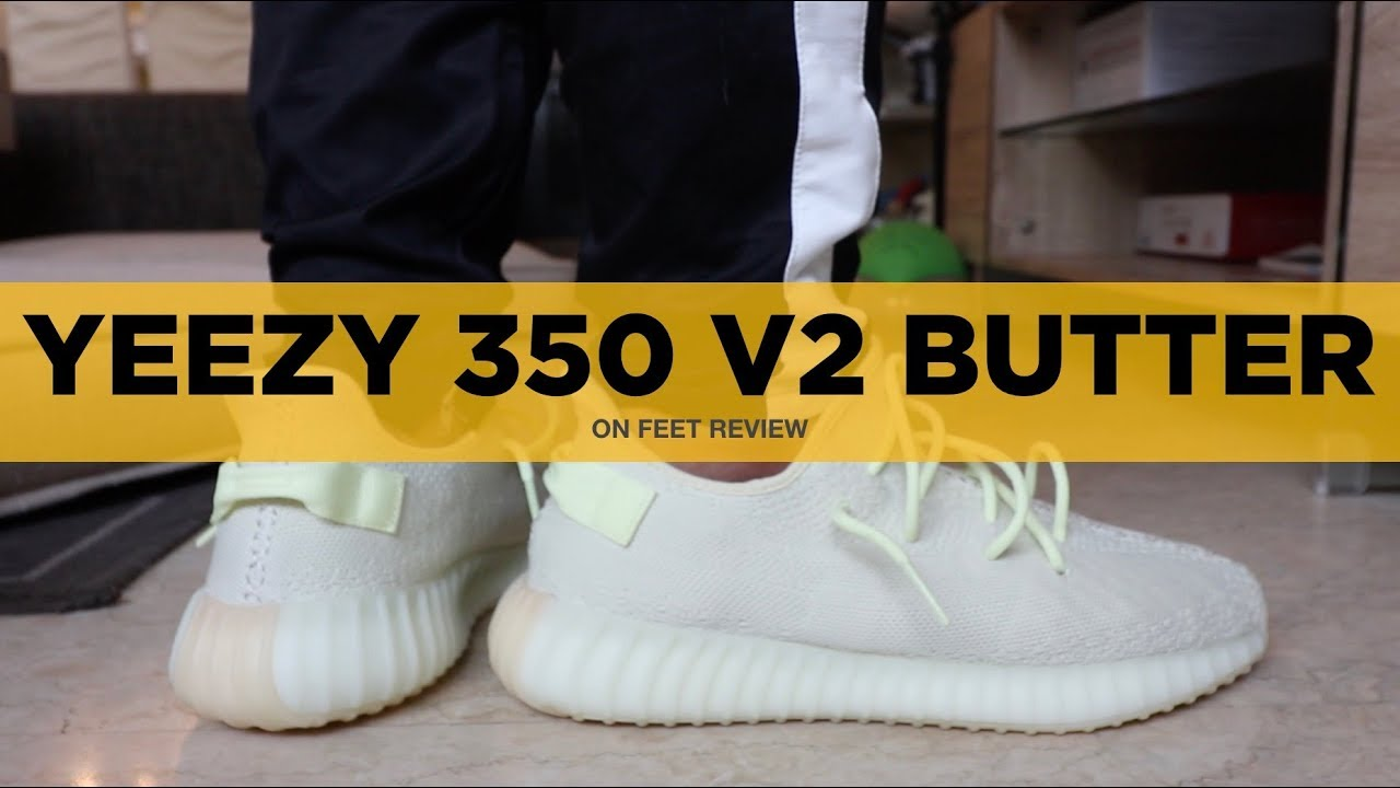 473f5f9c2 YEEZY 350 V2 BUTTER ON-FEET REVIEW  Worth the Hype  - YouTube