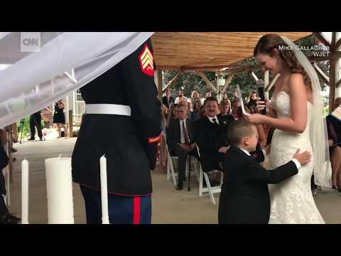 Stepmom's vows make 4-year-old cry from YouTube · Duration:  1 minutes 35 seconds
