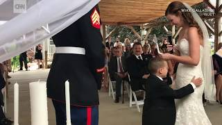 Stepmom's vows make 4 year old cry