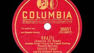 1943 HITS ARCHIVE: Brazil - Xavier Cugat
