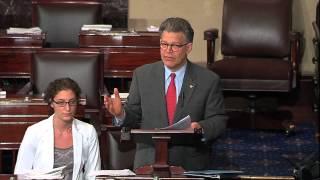 Sen. Franken Floor Statement on Medical Loss Ratio