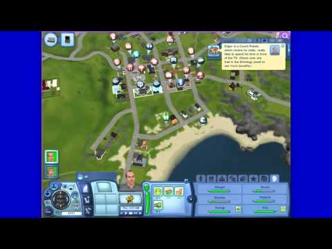 Lets Play The Sims 3 University Life Part 3 Working Guys!