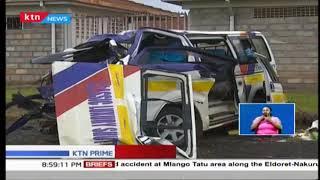 7 people die in grisly road accident at Mlango Tatu along Eldoret- Nakuru highway