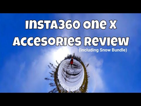 Insta360 One X Accessories Reviewed! (including Snow Bundle)
