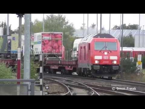 [SyltShuttle] Zugfahrten auf dem Hindenburgdamm, Klaxbüll und Niebüll Teil 2/3