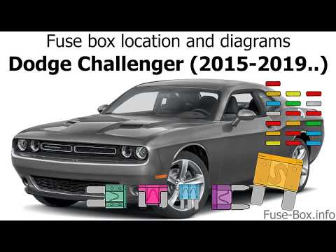 Fuse box location and diagrams: Dodge Challenger (2015-2019) - YouTubeYouTube