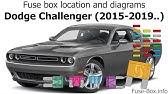 [SCHEMATICS_49CH]  Fuse box location and diagrams: Dodge Challenger (2009-2014) - YouTube | 2010 Dodge Challenger Fuse Box |  | YouTube