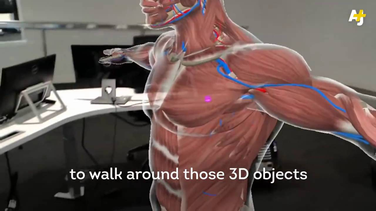 Medical Students Are Using Interactive 3d Holograms To Study Anatomy
