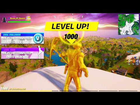 I Hit Level 1000 In Fortnite.. This HAPPENED!