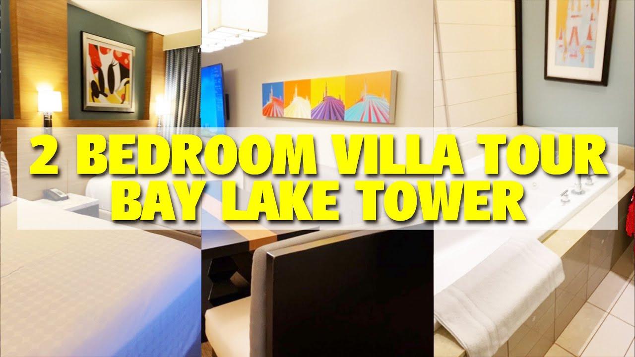 A Review Of A 2 Bedroom Villa At Disney S Bay Lake Tower