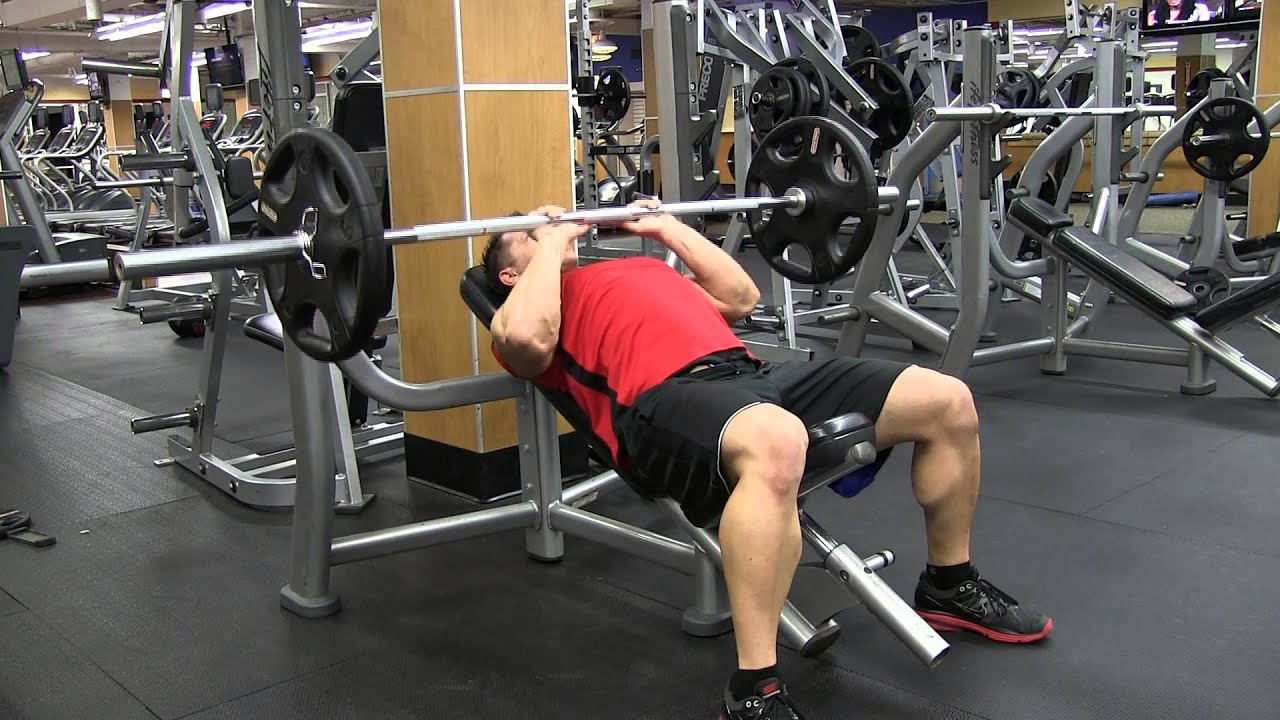 Narrow Grip Bench Presses Part - 30: Incline Barbell Close Grip Bench Press - YouTube