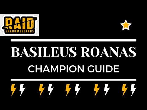 Basileus Roanas   Champion Guide   Raid Shadow Legends