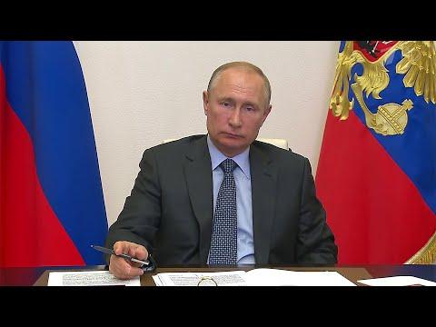 Президент провел встречу с главой Татарстана Рустамом Миннихановым.
