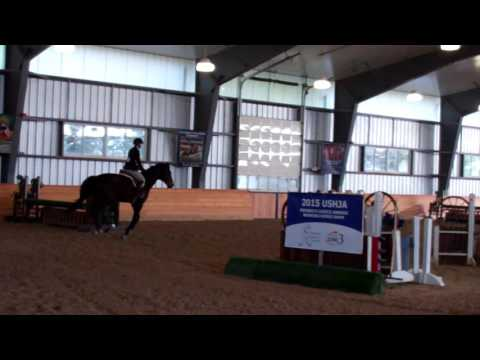Ashley Bent & Ghandi - Second Low Hunter - McDonogh School - March 26, 2016