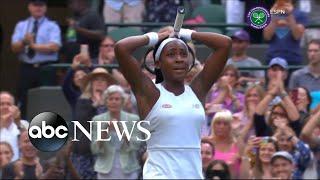 15-year-old tennis star upsets 5-time Wimbledon champ Venus Williams