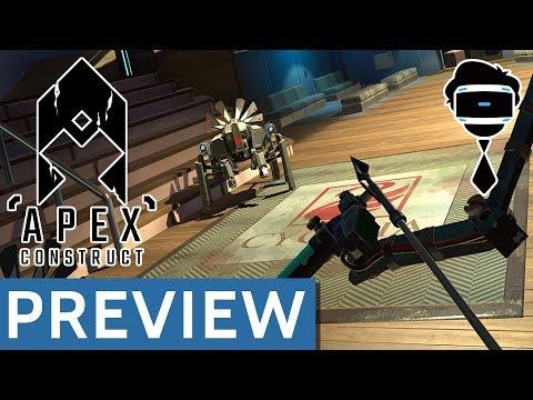 Upcoming PSVR Game: Apex Construct Preview | Stockholm Vlog