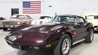 1974 Chevy Corvette Purple