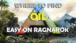 Ark   Survival Evovled where to find oil easy on Ragnarok