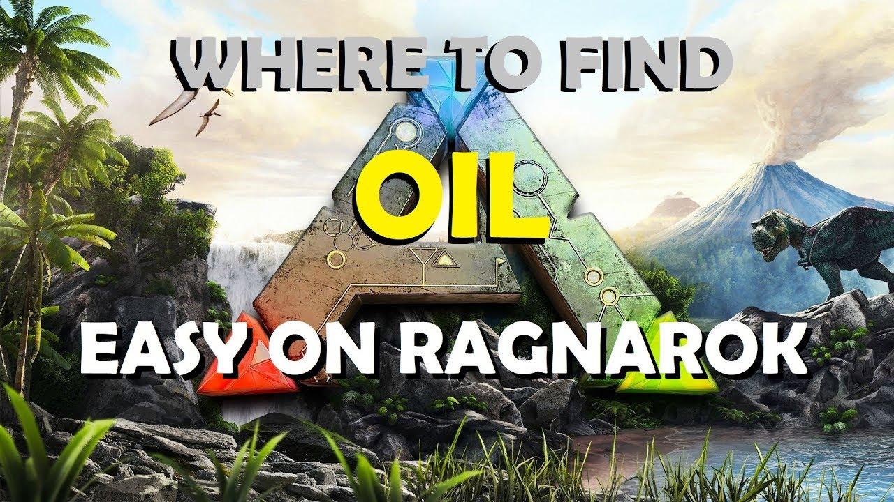 Ark Ragnarok öl Karte.Ark Survival Evovled Where To Find Oil Easy On Ragnarok