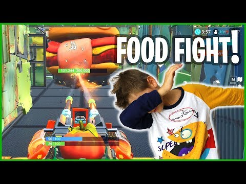New Food Fight LTM! Turret Force Is UNREAL!