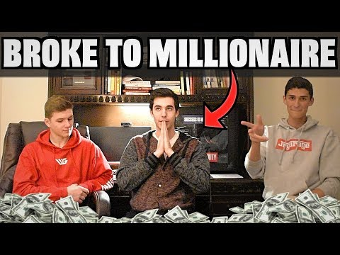 From Broke To Millionaire In Less Than 1 Year!! (Jaiden Gross Interview)