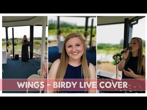 🦋Wings | Birdy Live Cover by Chloe Boulton | Sound Check at Kings Croft Hotel Wedding