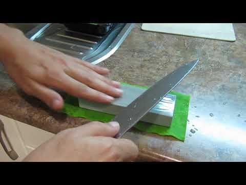 Заточка ножа с тонким сведением: какой зернистости камень выбрать для заточки?