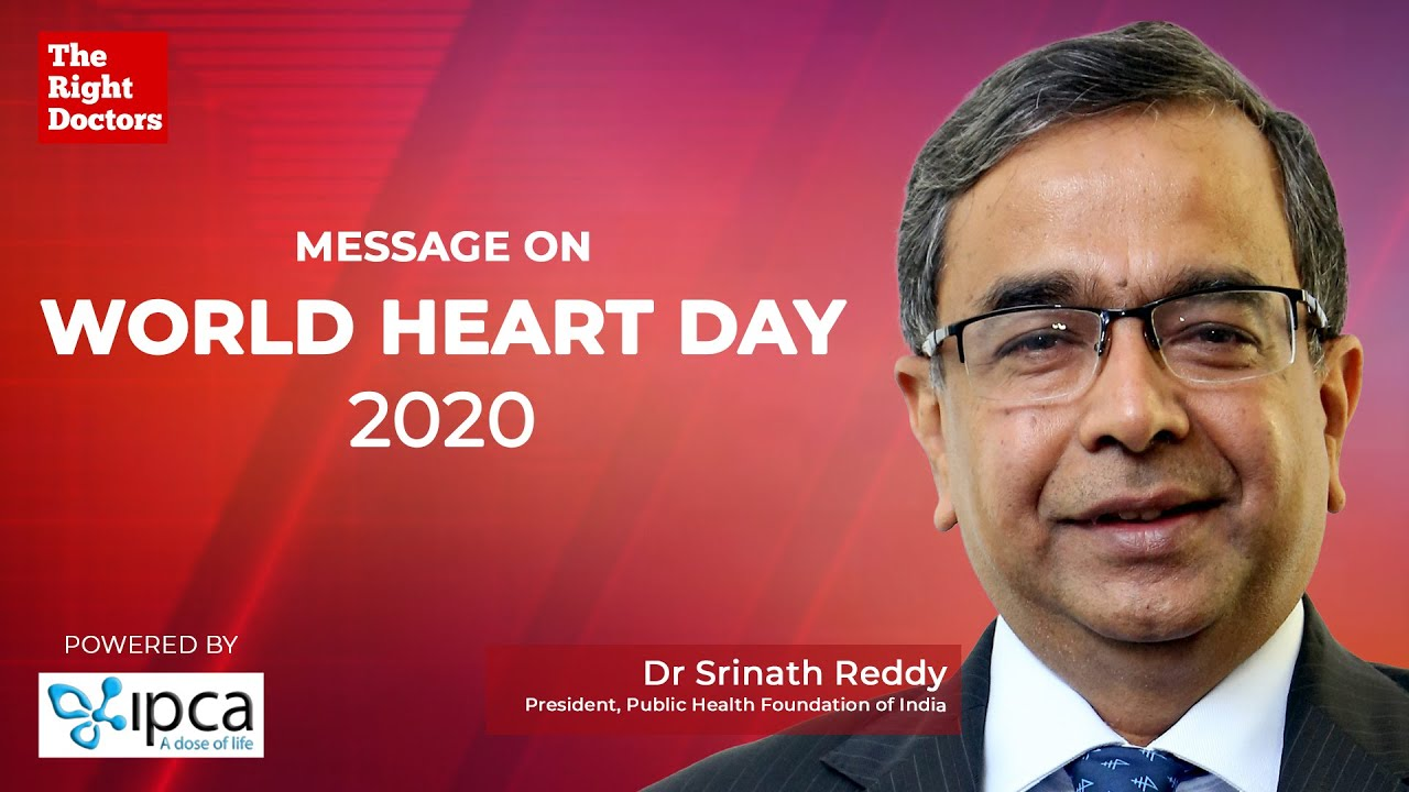 World Heart Day | Follow these steps to keep your Heart Healthy | Dr. Srinath Reddy
