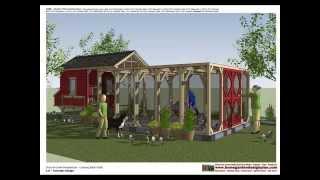 L101 - Chicken Coop Plans - Chicken Coop Design - How To Build A Chicken Coop