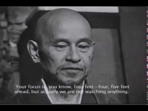 ♡ Shunryu Suzuki Roshi ♡ Zen Buddhism ♡ Meditation Instruction ♡ Oneness of Inside and Outside ♡